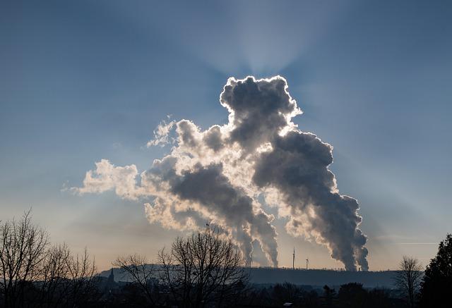 Emissionen in der Luft
